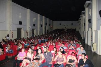 Público lotou novamente o Cinema Olympia no FAB 2014. Foto: Everton Pereira.